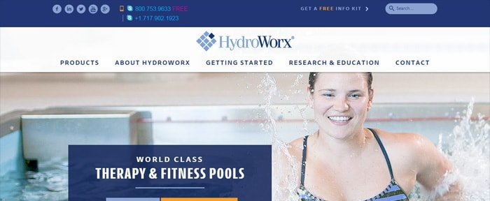 View Information about Hydroworx