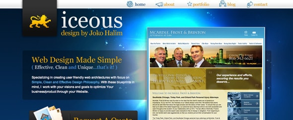 View Information about Iceous