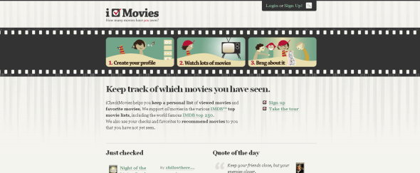 View Information about iCheckMovies