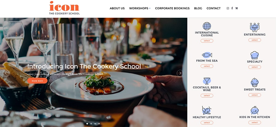 Go To Icon The Cookery School