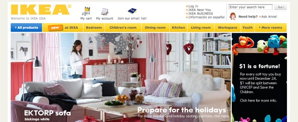 View Information about Ikea