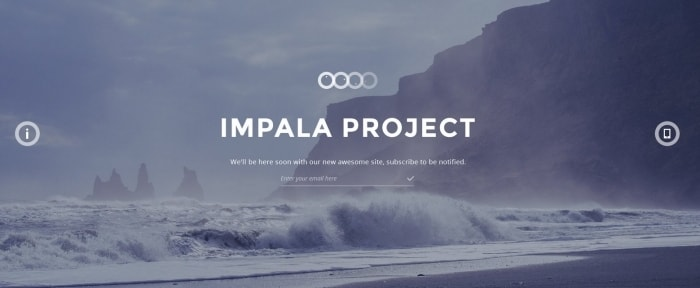 View Information about Impala Template