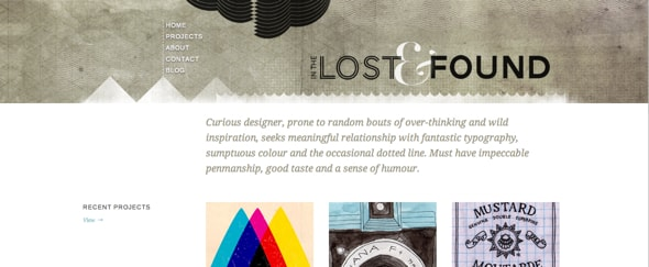 View Information about In the Lost & Found