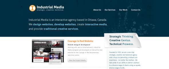 View Information about Industrial Media