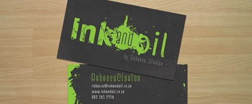 View Information about Ink & Oil