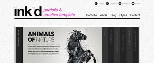 View Information about Ink\'d Theme