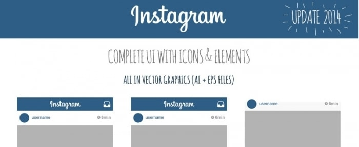 View Information about Instagram User Interface