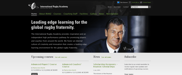 View Information about International Rugby Academy