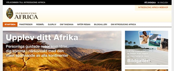 View Information about Introducing Africa