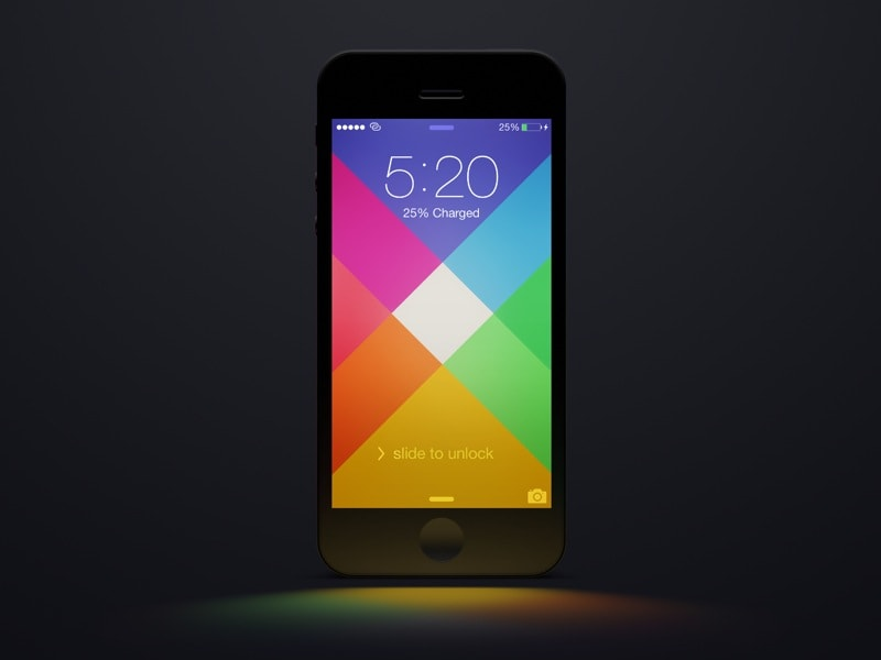 Go To iOS 7 Wallpaper