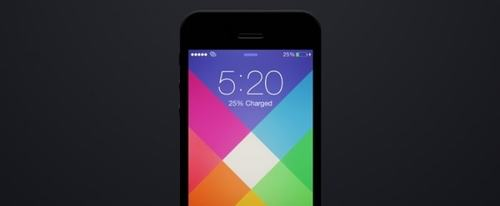 View Information about iOS 7 Wallpaper