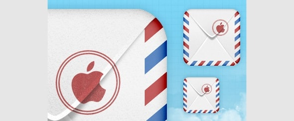 Go To iOS Mail Icon