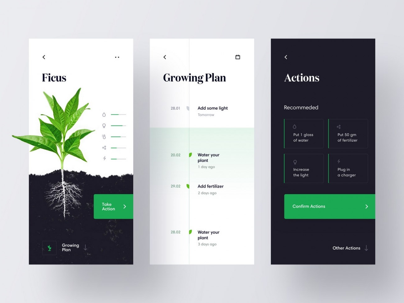 Go To IoT App for Growing Plants