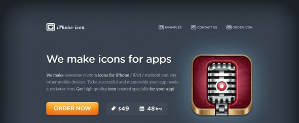 View Information about iPhone Icon Design