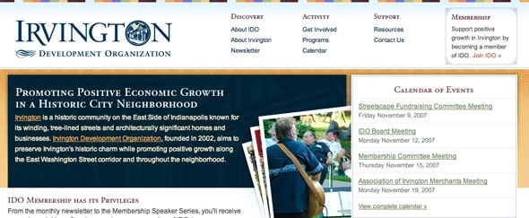 View Information about Irvington Development