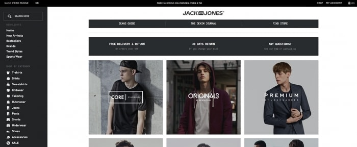 View Information about Jack Jones