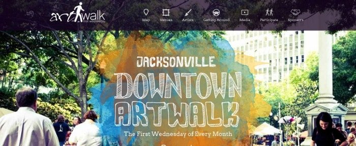 View Information about Jacksonville Art Walk