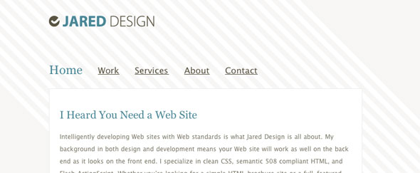 View Information about Jareddesign