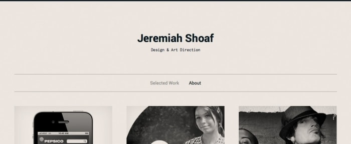 View Information about Jeremiah Shoaf