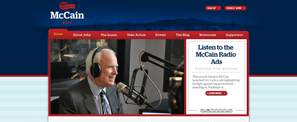 View Information about John McCain
