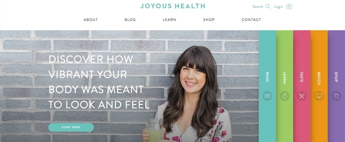 View Information about Joyous Health