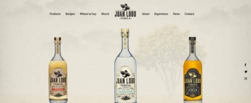 View Information about Juan Lobo Tequila