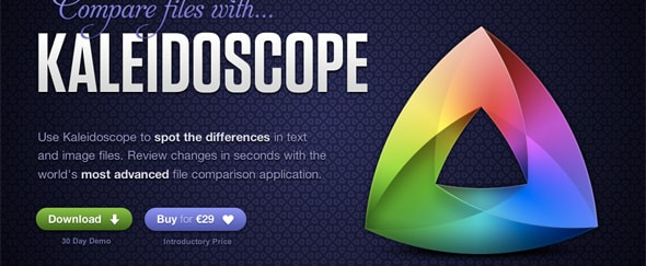 View Information about Kaleidoscope App