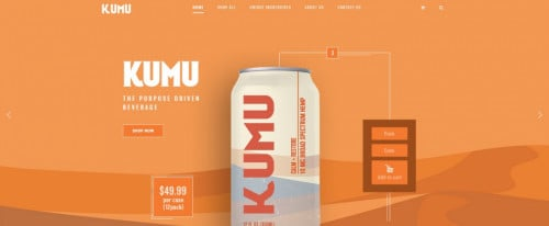 View Information about KAMU Drinks