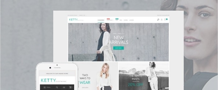 View Information about Ketty Fashion Store Magento Theme