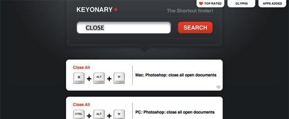 View Information about Keyonary