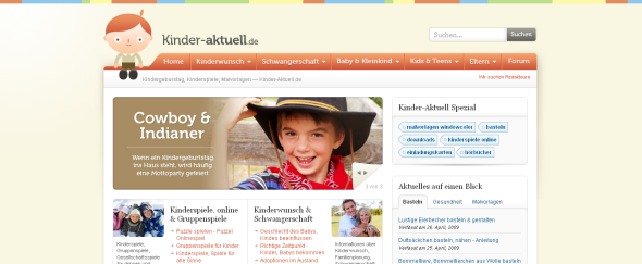 View Information about Kinder Aktuell