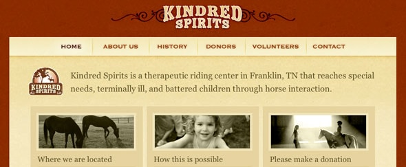 View Information about Kindred spirits