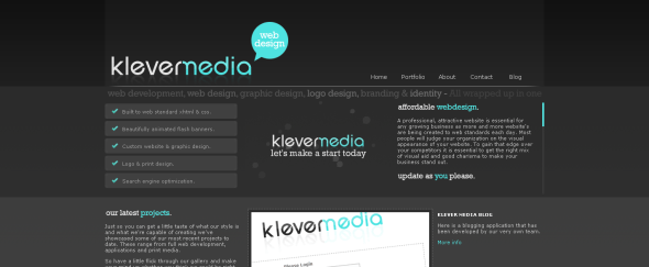 View Information about Klever Media