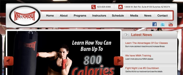 View Information about Knockout Fitness