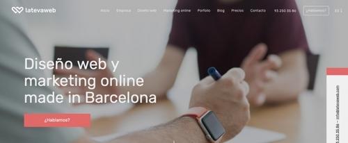 View Information about La Teva Web