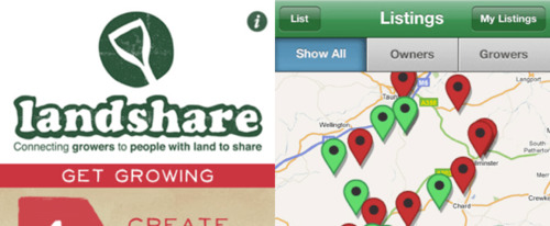 View Information about Landshare