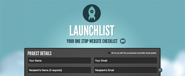 View Information about Launchlist