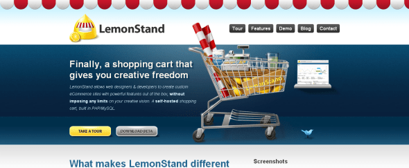 View Information about Lemon Stand App