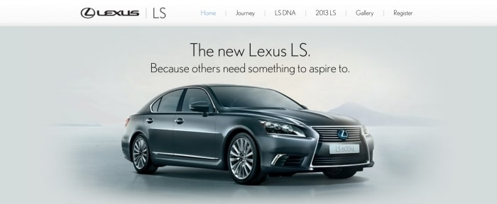 View Information about Lexus
