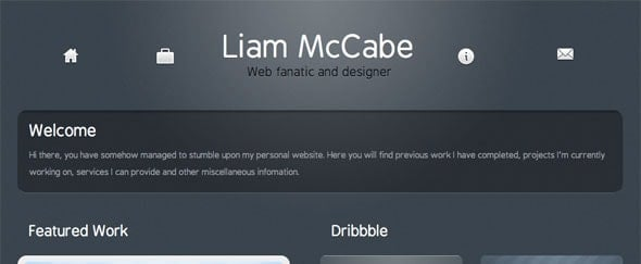 View Information about Liam McCabe