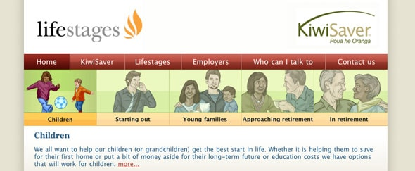 View Information about Life Stages