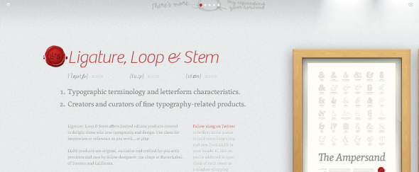 View Information about Ligature Loop and Stem