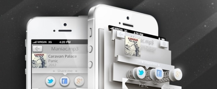View Information about Light iPhone UI