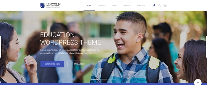 View Information about Lincoln WP Theme