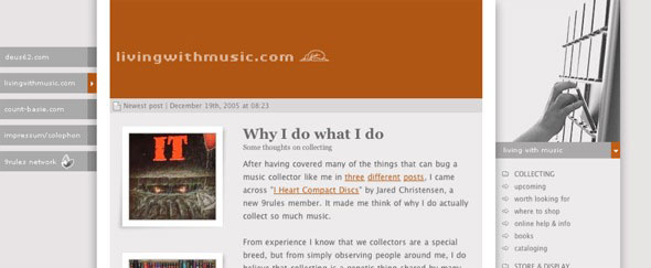 View Information about Living With Music