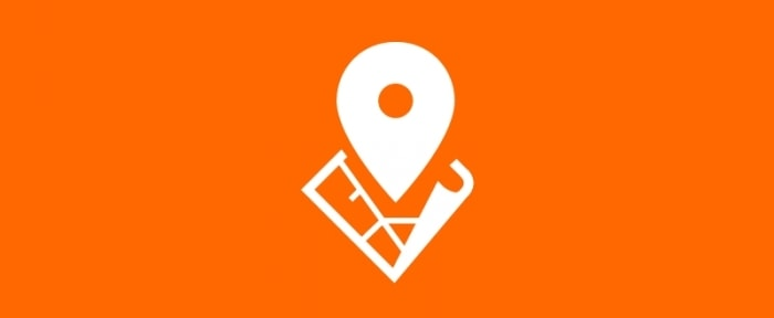 View Information about Location App Logo