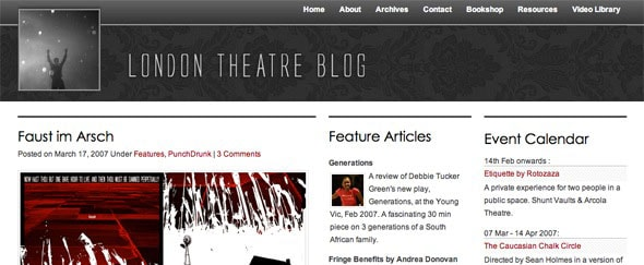 View Information about London Theatre Blog