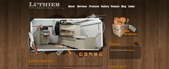 View Information about Luthier Services