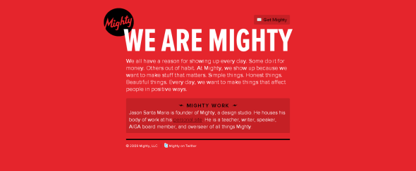 View Information about Mighty