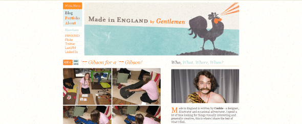 View Information about Made in England